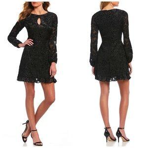 GB Velvet Floral Dress